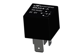 Where is the Automotive Relay Specifically Installed?