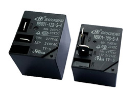 What are the functions of Relays commonly used in industry?